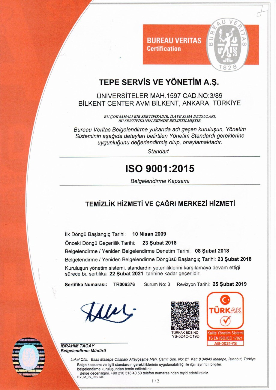 ISO 9001 - 1