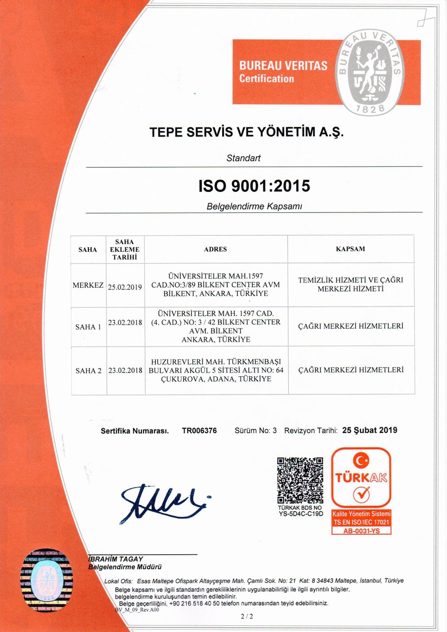 ISO 9001 - 2