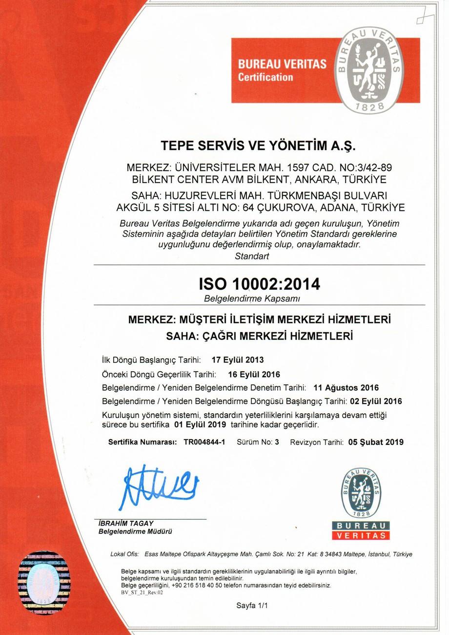 TEPE SERVİS 10002